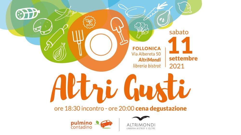 Incontro degustazione - sabato 11 settembre - Follonica - Pulmino Contadino