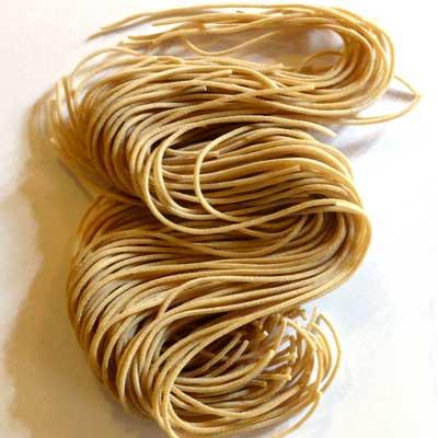 Spaghetti alla chitarra - Progetto Sterpaia - Pulmino Contadino