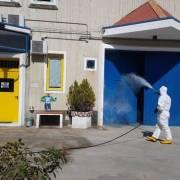 Casa circondariale Massa Marittima - sanificazione Covid 2020