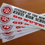 Kukui High Go Nuts Bumperstickers