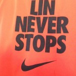 Lin never stops