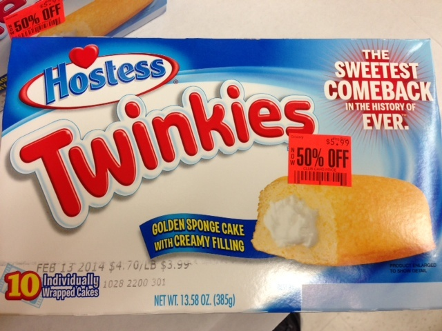 Twinkies don't last forever?!