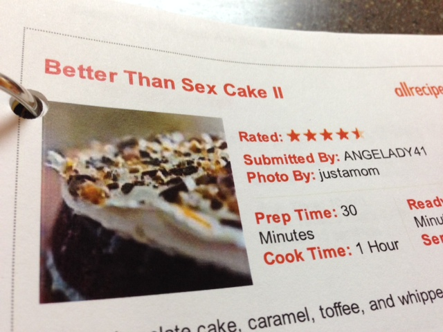 Better than Sex Cake II