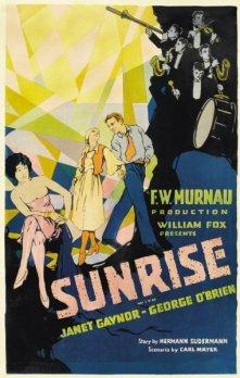 Sunrise (Aurora, 1927) dir. Friedrich Wilhelm Murnau