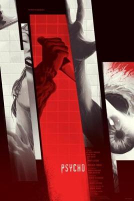 """PSYCHO"" Poster Artist: Kevin Tong"
