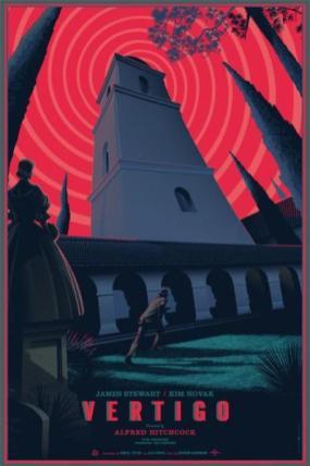 """""""VERTIGO"""" Poster Artist: Laurent Durieux"""