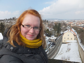 Allana D with Bamberg in the background (source – Allana D)