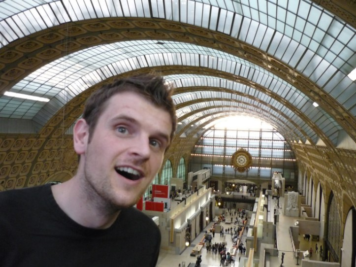 In awe at the Orsay! One of the best art galleries in Paris (source - Pulped Travel)
