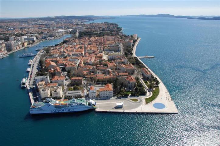 Zadar's Old Town (source - croatia.hr)