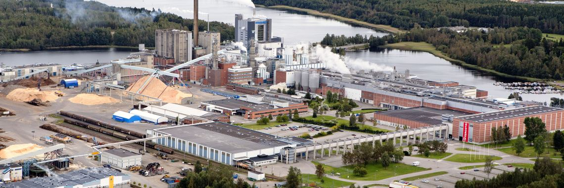 Iggesund Paperboard has bought two complete PulpEye sets which is the company's second biggest order ever. Photo: Holmen