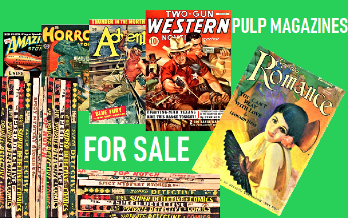 PULP MAGAZINES FOR SALE