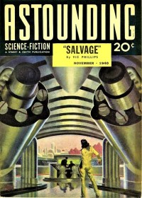 ASTOUNDING SCIENCE FICTION COVER - November 1940