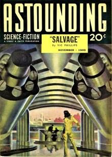 PULP MAGAZINE COVER - ASTOUNDING SCIENCE FICTION, NOVEMBER 1940