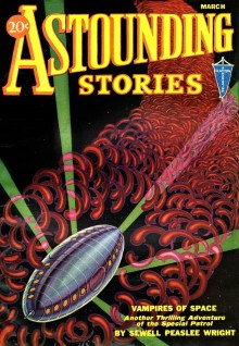 PULP MAGAZINE COVER - ASTOUNDING STORIES, MARCH 1932