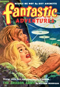 PULP MAGAZINE COVER - FANTASTIC ADVENTURES, NOVEMBER 1952