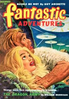 PULP MAGAZINE COVER - FANTASTIC ADVENTURES, NOVEMBER 1952