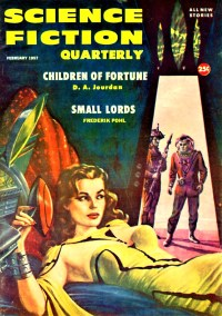 PULP MAGAZINE COVER - SCIENCE FICTION QUARTERLY, FEBRUARY 1957