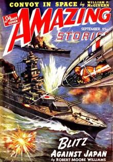 AMAZING STORIES - September, 1942