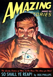 AMAZING STORIES COVER - August, 1947