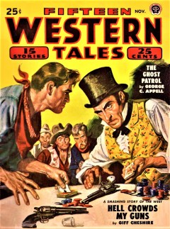 FIFTEEN WESTERN TALES - November, 1949