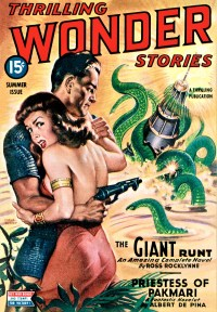 THRILLING WONDER STORIES COVER - Summer, 1944