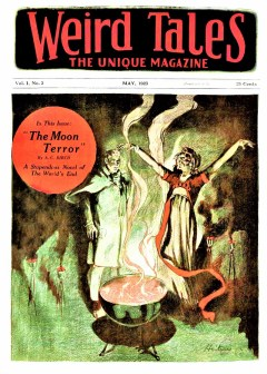 WEIRD TALES - May, 1923