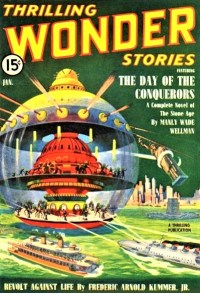 THRILLING WONDER STORIES - January, 1940