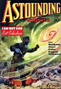 ASTOUNDING STORIES COVER - October, 1935