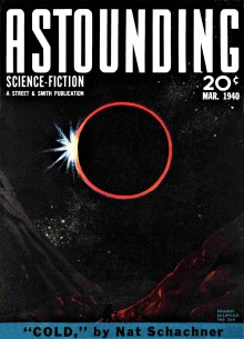 ASTOUNDING SCIENCE-FICTION COVER - March 1940