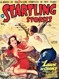 STARTLING STORIES COVER - March 1947