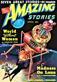 AMAZING STORIES COVER - April 1939