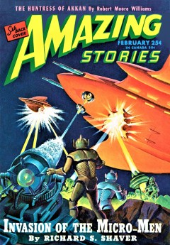 AMAZING STORIES - February 1946