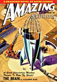 AMAZING STORIES COVER - October 1948