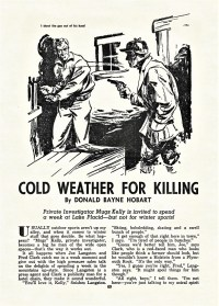 READ - COLD WEATHER FOR KILLING
