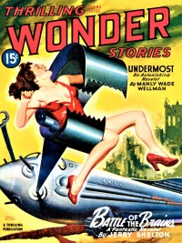 THRILLING WONDER STORIES COVER - Spring 1946
