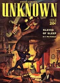 UNKNOWN - July 1939