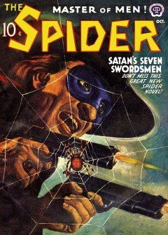 THE SPIDER - October 1941