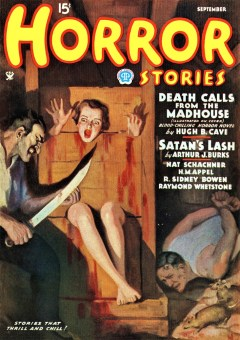 HORROR STORIES - September 1935