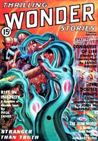 THRILLING WONDER STORIES COVER - August 1937