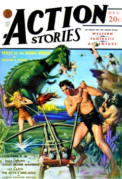 Read ACTION STORIES - December 1940