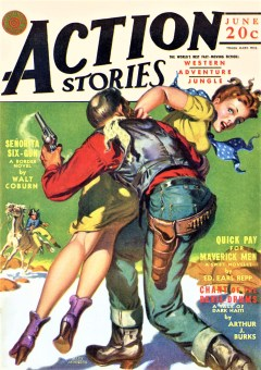 ACTION STORIES - June 1942