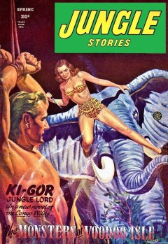 JUNGLE STORIES - Spring 1946