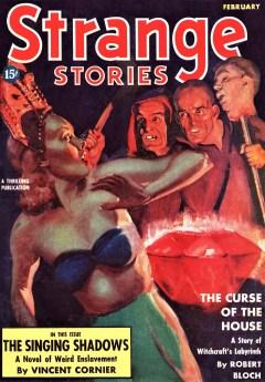 read STRANGE STORIES - February 1939