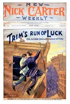 NEW NICK CARTER WEEKLY - June 12, 1897