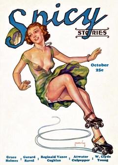 SPICY STORIES - October 1933