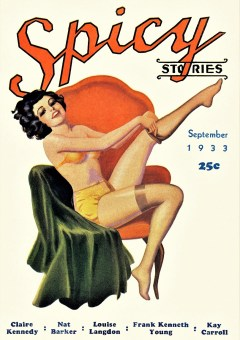 SPICY STORIES - September 1933
