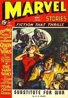 MARVEL STORIES - November 1940