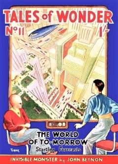 TALES OF WONDER - Summer 1940