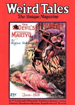 WEIRD TALES - June 1928