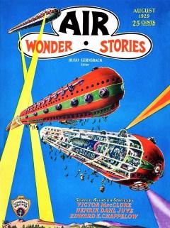AIR WONDER STORIES - August 1929